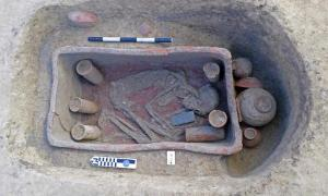 Pre-dynastic burial ground found in Egypt.    Source: Egyptian Ministry of Antiquities