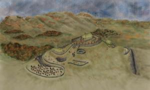 Burnt Hill Fort in Dark Ages Scotland Was Likely the Stronghold of the Mysterious Rheged Kingdom