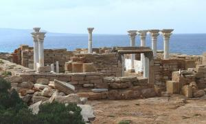A Byzantine Catholic church, like this one in Athrun, Libya, will be reconstructed in England.