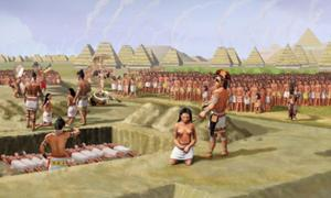 Mound 72 mass sacrifice of 53 young women at Cahokia
