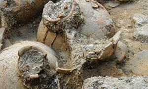 Canaanite Wine Cellar discovered at Tel Kabri