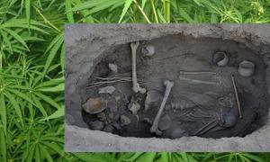 Archaeologists Are Surprised to Find a 2,500-Year-Old Cannabis Burial Shroud Found in China