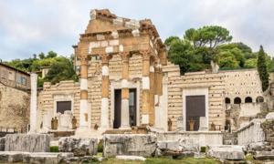 The temple of the Capitolium
