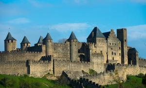 Medieval Carcassonne town view, France. Source: Nejron Photo / Adobe