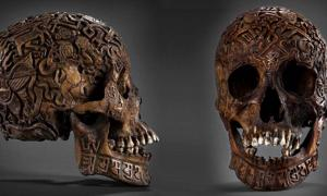 Can You Solve the Mystery Behind This Intricately Carved Skull?