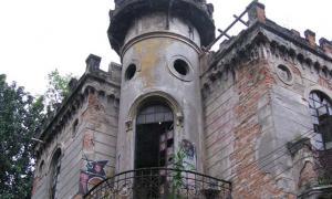 Detail of the Castelinho da Rua Apa.