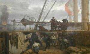 The fall of Casto Méndez Núñez in May 2nd, 1866
