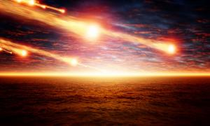 Taurid meteor shower 13,000 years ago.