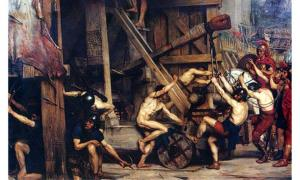 Catapulta by Edward Poynter