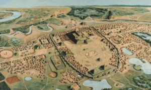 Ceremonial Road in the Ancient City of Cahokia