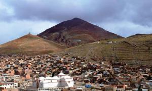 View of Rich Hill (Cerro Rico).
