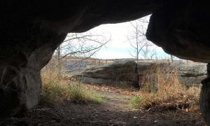 Charlie Lake Cave Inside