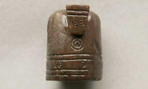 The medieval chess piece found in Norway in December 2017.