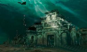 Chinese underwater city - Lion City