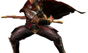Chinese warrior with sword