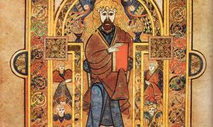 Abbey of Kells - Scanned from Treasures of Irish Art.