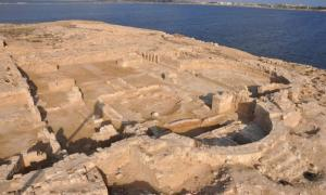 Christian church ruins discovered in ancient port of Marea, near Alexandria