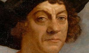 Portrait of Christopher Columbus