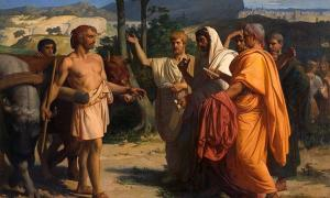 Cincinnatus Receiving Deputies of the Senate.