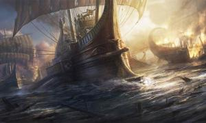 The Classis Britannica was an important fleet in the Roman Navy. Source: RadoJavor/Deviant Art