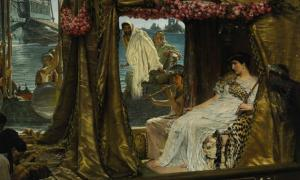 Antony and Cleopatra, by Lawrence Alma-Tadema.