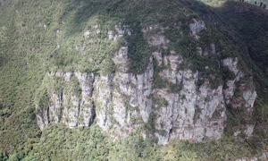 Peña de Juaica sacred mountain, Tabio, Colombia