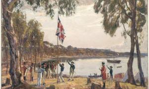 The Founding of Australia (public domain)