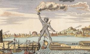 The Colossus of Rhodes: Ancient Greek Mega Statue