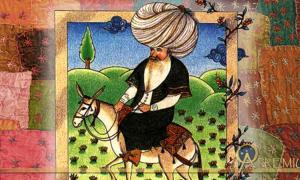 A Real Wiseguy! Witty Sage and Ancient Comedian Nasreddin Hodja Has the Last Laugh