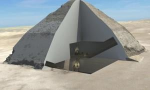 Cosmic Rays Reveal Further Secrets of the Bent Pyramid