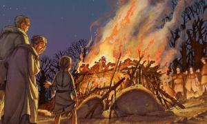 Vision of Iron Age cremation