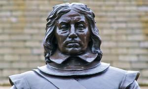 Oliver Cromwell statue, Palace of Westminster, London