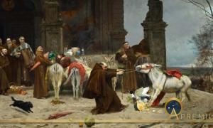 Return to the Convent by Eduardo Zamacois y Zabala (1868) Carmen Thyssen Museum (Public Domain)