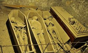 People are shocked and outraged by the vandalism in St. Michan's church and its crypt. They are especially upset by the desecration of the Crusader mummy.