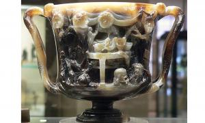 Front view of the Cup of the Ptolemies