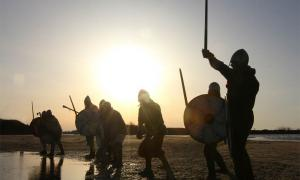 Known to all and feared by many, the Curonians were famed for their prowess in battle, strong warrior culture, and an infamous reputation of raiding and plundering their neighboring shores. Source: destillat / Adobe Stock