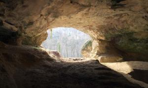 Vindija Cave in Croatia where Neanderthal DNA was found in cave sediment