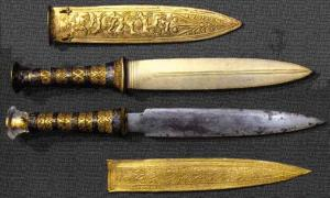 Precious Dagger of Tutankhamun Found to be of Meteoric Origin