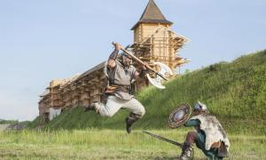 Danevirke wall defended the Danes in the north from the Germanic and Slav tribes.    Source: khosrork / Adobe Stock