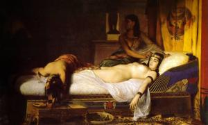 The Death of Cleopatra.