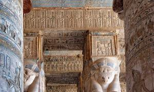 What Happened to Grand Temple Building in Ancient Egypt after the Death of Alexander the Great?