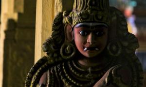 Mythological, demonic Rakshasa (V.R.Murralinath / Adobe Stock)