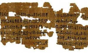 Instructions for a 3,500-year-old pregnancy test.