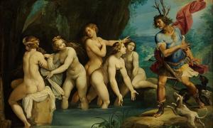 'Diana and Actaeon' (1602-1603) by Giuseppe Cesari.