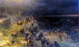 The Prehistoric Survivors of the Doggerland Tsunami Event