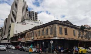 Downtown Port Louis, a blend of the historical and the new.