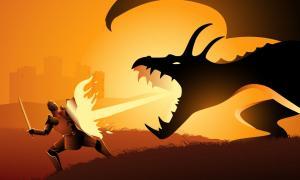 St George dragon slayer