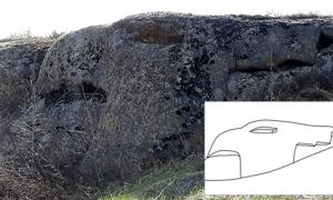 The megaliths at Mokhnatya mountain was discovered in 2013 but are only now disclosed.