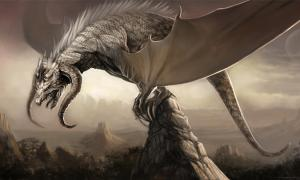 Artwork of a dragon for the Durian-Project of the Blender Foundation