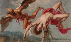 The fall of Icarus, circa 1635.